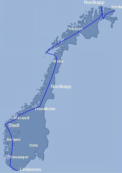 stadt kart Sykla norge Aust vest nord sør stadt kart